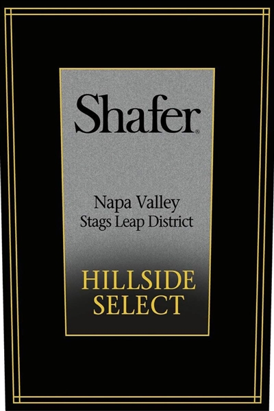 Shafer Vineyards Hillside Select Cabernet Sauvignon 2012