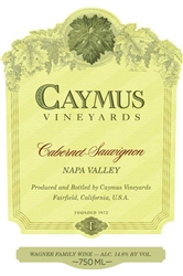 Caymus Vineyards Cabernet Sauvignon 1986