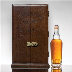 ♦ Bowmore 40 Year Single Malt Scotch 1955