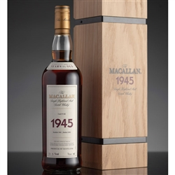 ♦ Macallan Fine and Rare 56 Year Old Single Malt Scotch 1945