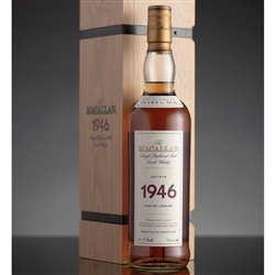 ♦ Macallan Fine and Rare 56 Year Old Single Malt Scotch 1946