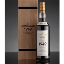 ♦ Macallan Fine and Rare 52 Year Old Single Malt Scotch 1949