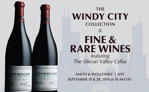 The Windy City Collection and<br> Fine & Rare Wines,<br>New York <br> September 19 & 20