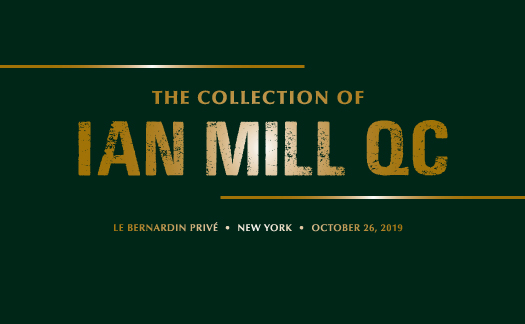 The Collection of Ian Mill QC, New York <br>October 26
