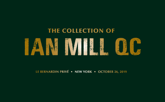 The Collection of Ian Mill QC, New York<br>October 26