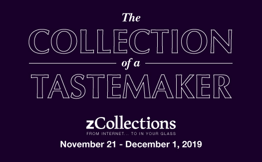 The Collection of a Taste Maker<br> zCollections, <br>November 21-December 1