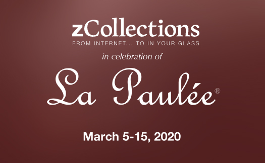 zCollections,<br><i>In Celebration of La Paulee</i><br>March 5-15