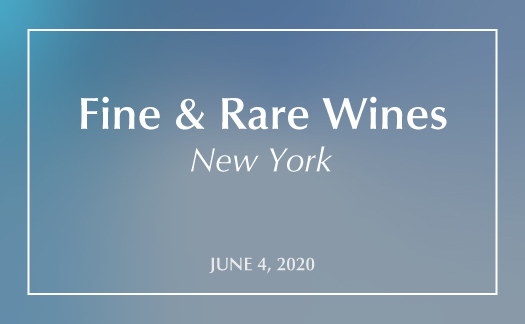 Fine & Rare Wines,<br>New York,<br>June 4 & 5
