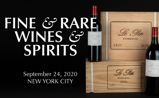 Fine & Rare Wines & Spirits, New York, September 24