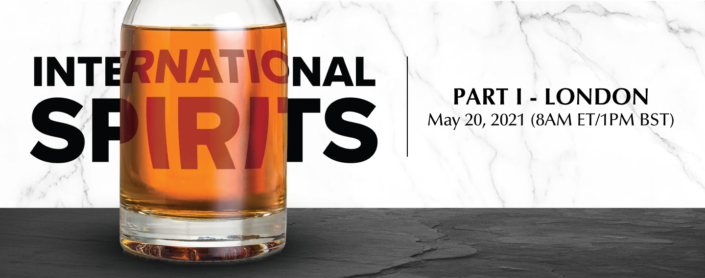 International Spirits Only, May 20