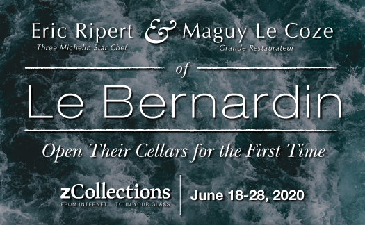 zCollections, Eric Ripert & Maguy Le Coze of Le Bernardin, June 18-28