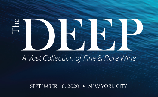 The Deep: A Vast Collection of Fine & Rare Wine, New York, September 16