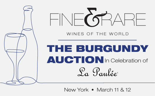Fine & Rare Wines in Celebration of La Paulée, March 11 & 12