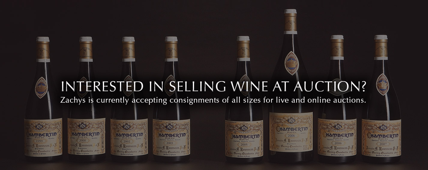 Interested in selling wine at auction?